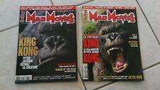 lot 2 MAD MOVIES  revues ciné fantastique N° 177/181 special KING-KONG
