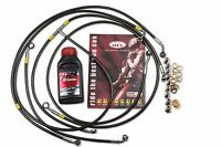 BMW S1000RR 10-13 ABS Front / Rear Brake Lines Hel Performance + Brembo Fluid