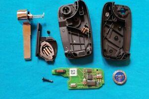 Fiat 500 Doblo Grand Punto Evo Qubo Nemo Bipper  Remote key fob BLANK PCF7946