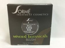 Sorme Mineral Botanicals Blush 'Love 543' 0.11oz / 3.4g New C25 Aa
