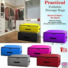 Waterproof Large Storage Bag Bags Oxford Box Clothes Quilt Duvet Laundry Zipped