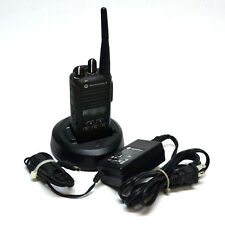 Motorola AAH03RDF8AA7AN CP185 Commercial Portable Two-Way Radio UHF 435-480Mhz