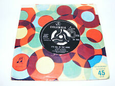 """Cliff  Richard   It's  All  In  The  Game / Your Eyes Tell On You 1963 7"""" Vinyl"""