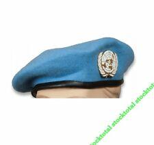 BOINA AZUL ONU CON EMBLEMA  Boina azul ONU Tamaño: 56 30482
