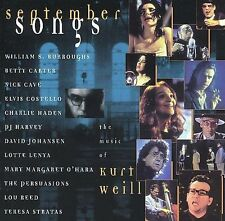 * September Songs: The Music of Kurt Weill, BETTY CARTER, LOU REED, NICK CAVE