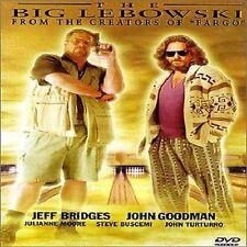The Big Lebowski (DVD, 1998, Closed Captioned) WS J BRIDGES GOODMAN NEW