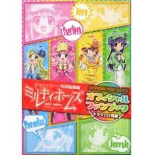 Tantei Opera Milky Holmes official fan book w/Drama CD