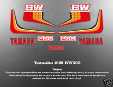 YAMAHA 1985 BW200 WICKED TOUGH DECAL GRAPHIC KIT