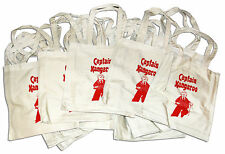 Captain Kangaroo Promotional Tote Bags -- Lot of 50
