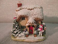 Lilliput Lane First Snoel 2003 Snow Place Like Home Collection L2632 Nib Deed