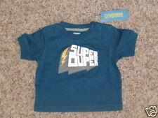 GYMBOREE SUPER HERO GOLD SUPER HERO Pow L//S TEE 6 12 18 24 2T 3T 4T 5T NWT