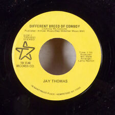 "Jay Thomas Interstate Madonna / Different Breed of Cowboy 7"" 45 Tri Star EX"