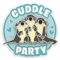 Disney Parks Finding Dory 3 Otters Cuddle Party Disney Pin - New