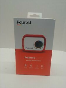 Polaroid iD757 (Red) Lifestyle Action Camera Free Shipping BRAND NEW