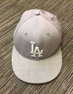 New Era 9forty LA Cap In Light Grey Cotton Size S/M BNWT