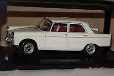 Peugeot 404 1965 creme 1:18 Norev neu & OVP 184870