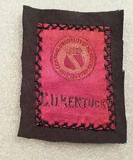 Vtg 1910 Central University Of Kentucky Egyptienne Luxury Tobacco Silk Nice