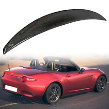 Carbon Fiber For Mazda Miata MX5 Convertible Performance Rear Trunk Spoiler 2018