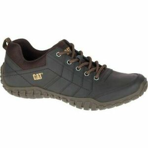 Mens Caterpillar Instruct Casual Lace Up Leather Smart Shoes Sizes 9 10 11