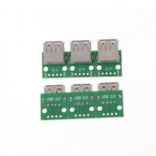 10Pcs USB 2.0 To DIP 4P 2.54MM PCB Board Adapter Converter For Arduino DIY fn