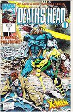 DEATH'S HEAD II #1 / X-MEN / WRAPAROUND COVER / 1992 / MARVEL COMICS