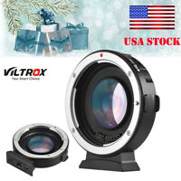 Viltrox EF-M2II Auto Focus Adapter 0.71X Canon EOS EF Lens Micro MFT 4/3 -US