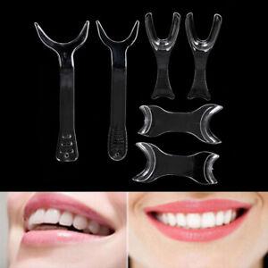 6pcs Dental Lip Retractor Orthodontic Double-Head Mouth Opener Photograph ZH