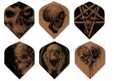 Alchemy Pro 100 Extra Strong Copper & Black Standard Dart Flights 6 Designs