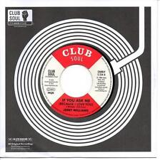 JERRY WILLIAMS If You Ask Me (Because I Love You) NEW NORTHERN SOUL 45 (CHARLY)