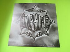 1998 GANGSTARR FULL CLIP A DECADE OF PROMO FLAT POSTER RECORD STORE PROMOTIONAL