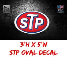 STP Logo Decal Racing window Sticker NASCAR NHRA NOS PRISTINE RICHARD PETTY USDM