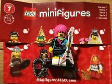 LEGO SERIES 7 SEVEN ROCKER GIRL STAR MINT COMPLETE LEAFLET COLLECTORS