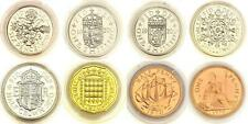 More details for 1970 pre decimal proof coin immaculate condition free from toning sixpence crown