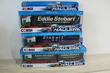 Corgi Super Haulers Eddie Stobart Lorry / Truck / Tanker X 3 Brand New Boxed