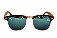 ClubMaster Sunglass In In Blue Mirror Look(Goggles)