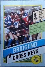 1989 Bridgend/Cross Keys programme