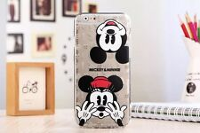 Ultra Thin Cartoon Soft TPU Crystal Clear Case Cover for iPhone 5 6 6S 7 8 Plus