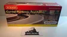 HORNBY 00 SKALEDALE - R8643 - CURVED PLATFORM 2ND RADIUS - RARE NEW BOXED