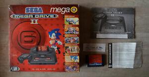 Boite VIDE + notices et jeu - Pack console Megadrive 2 6 jeux - MEGA 6  - Sega
