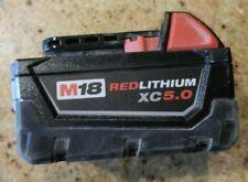 Milwaukee m18 battery 5.0ah