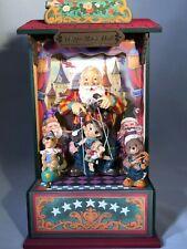 Santa Music Box Puppets The San Francisco Music Box Co Happy Music Hall
