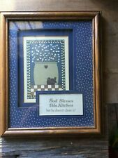 Home Interior Kitchen God Ble 00004000 Ss This Kitchen Mess picture Framed