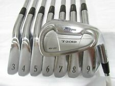 Used RH Mizuno T-Zoid MX-20 Forged Iron Set 3-P Regular Flex Steel Shafts