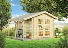 Gerätehaus Ypern 19 Holz 240x270 cm 19 mm Satteldach Geräteschuppen Gartenhaus