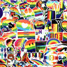 100Pc Lot Cool Skateboard Stickers bomb Vinyl Laptop Luggage Decals Dope Sticker