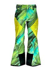 Spyder Turret Shell Recco Waterproof Geo Rays Ski Snowboard Pants Bibs S Womens