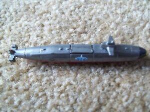 Vintage Galoob Micro Machines Los Angeles Class Submarine Military  FF