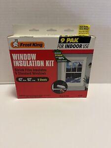"FROST KING V73/9H Indoor Shrink and Seal Window Kit 42"" x 62"" Sealed"