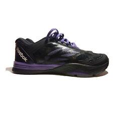 Reebok Women's Les Mills Cardio Ultra, Black/Gravel/Violet Size 7 | NEW No Box
