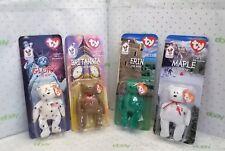 Ty Beanie Babies,Britannia The Bear,Erin The Bear,Glory The Bear,Maple The Bear